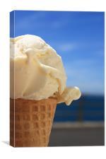Ice Cream, Canvas Print