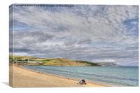 Bowleaze Cove, Canvas Print