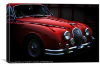 Jaguar Mk2, Canvas Print