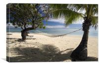 Relax - Aitutaki, Canvas Print