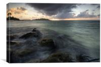Muri Lagoon - Sunrise, Canvas Print