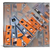 CityScape (original version), Canvas Print
