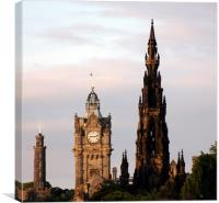 Iconic Edinburgh Buildings