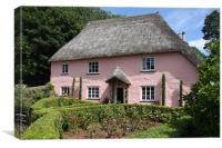 Rose Cottage, Canvas Print