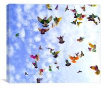Flight., Canvas Print
