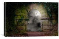 Moon Light Magic, Canvas Print
