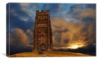 Magic of the Tor, Canvas Print