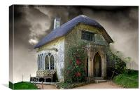Gothic Cottage 2, Canvas Print