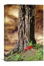 Woodland Fantasy, Canvas Print