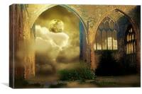 Ancient Sanctuary, Canvas Print