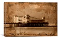 The Grand Pier, Canvas Print