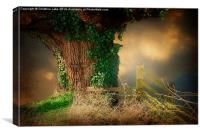 Countryside Bliss, Canvas Print