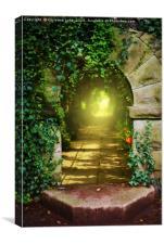 The Secret Path, Canvas Print