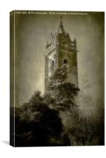 The Tower On The Hill, Canvas Print