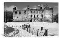 Balvenie Castle, Canvas Print