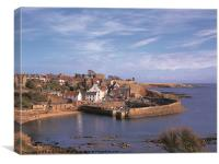Crail Harbour, Canvas Print