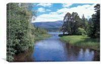 Loch Morlich, Canvas Print