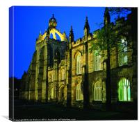King's College, Aberdeen, Canvas Print