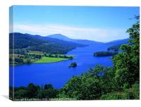 Queen's View, Loch Tummel, Canvas Print