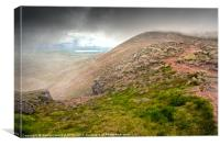 Allt Stob an t-Sneachda - Cairngorms Scotland, Canvas Print