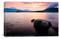 Derwentwater Sunrise, Cumbria. UK, Canvas Print