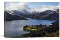 Ullswater - English Lake District, Canvas Print