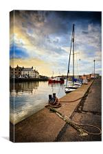 Eyemouth Harbour, Canvas Print