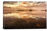 Derwentwater Sunrise, Canvas Print