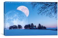 Winter Solstice Fantasy, Canvas Print