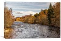 River Dee, Canvas Print