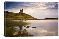 Dunstanburgh Castle Northumberland, Canvas Print