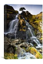 Dovedale Cascade, Cumbria. UK, Canvas Print