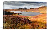 Loch Dhughaill - Isle of Sky, Canvas Print