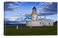 Chanonry Point Lighthouse - Black Isle, Canvas Print