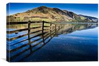 Buttermere Fell, Cumbria, Canvas Print