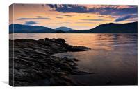 Sunrise - Derwentwater, Keswick, Canvas Print