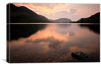 Sunset Buttermere, Cumbria, Canvas Print