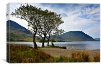 Crummock Water, Cumbria., Canvas Print