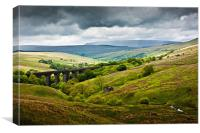 Dent Head Viaduct - North Yorkshire Dales, Canvas Print