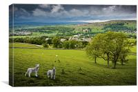 Langcliffe - Yorkshire Dales National Park, Canvas Print