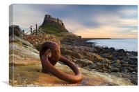 Lindisfarne Castle - Holy Island, Canvas Print
