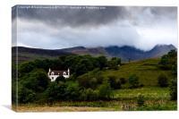 Traditional House - Isle of Skye, Canvas Print