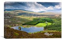 Loch Gynack, Canvas Print