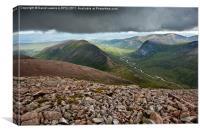 Glen Dee, Cairngorms, Scottish Highlands, Canvas Print
