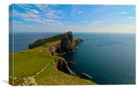 Neist Point - Isle of Skye, Canvas Print