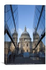 St. Pauls Cathedral, London, Canvas Print