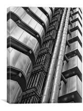 Lloyd's building, London, Canvas Print