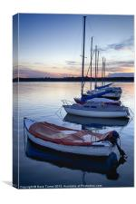 Beadnell Bay, Northumberland, Canvas Print