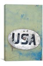USA, Canvas Print