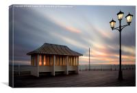 Cromer Pier Sunset, Norfolk, Canvas Print